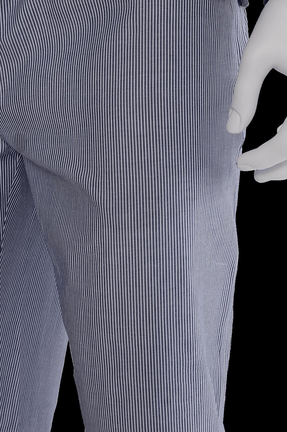 TheDON Antrasit Çizgili Ribana Erkek Pijama Takımı